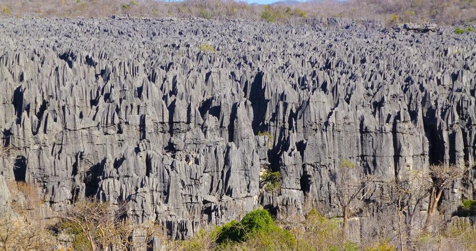 Les Tsingy de Madagscar en 2012