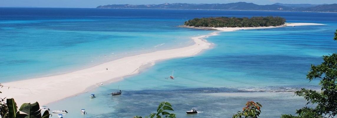 Magnifique plage à Madagascar
