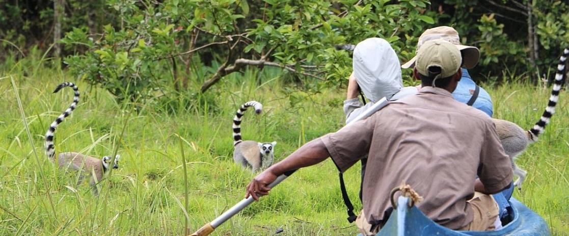 Des touristes à Madagascar