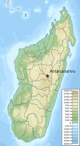 Antananarivo carte