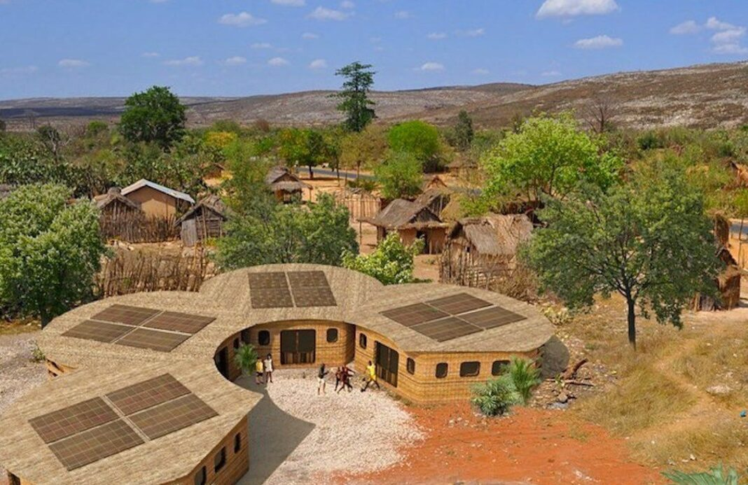 Madagascar école 3D